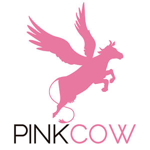 pink cow