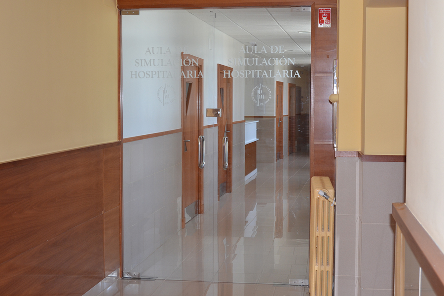 aula simulacion hospitalaria ucav