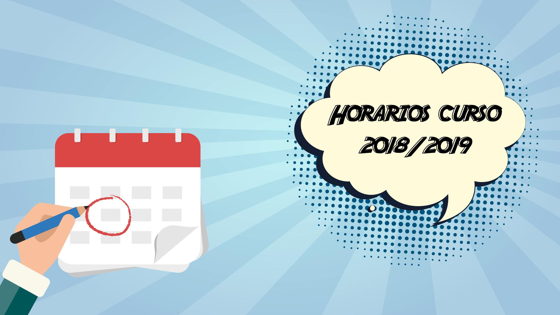 Horarios 18-19