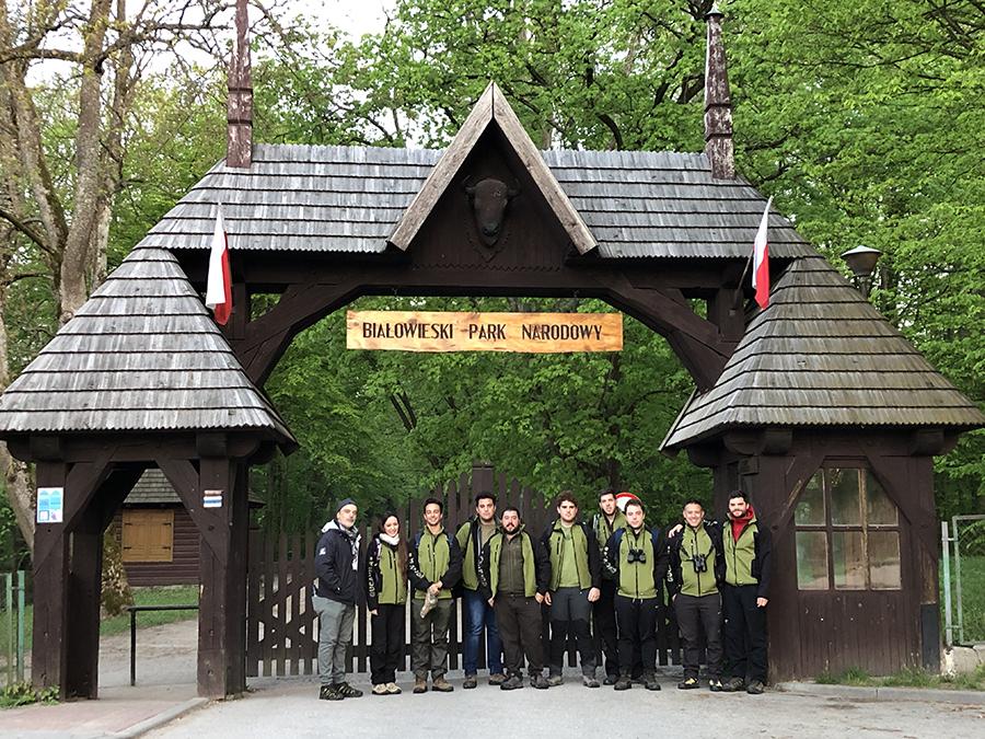 Los alumnos del Título de Experto de Conservación de la Naturaleza de la UCAV viajan al Parque Nacional de Białowieża (Polonia)
