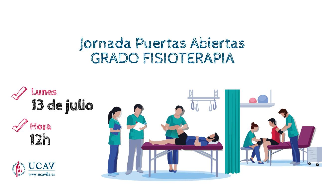 Los futuros alumnos del Grado en Fisioterapia podrán conocer de cerca la UCAV