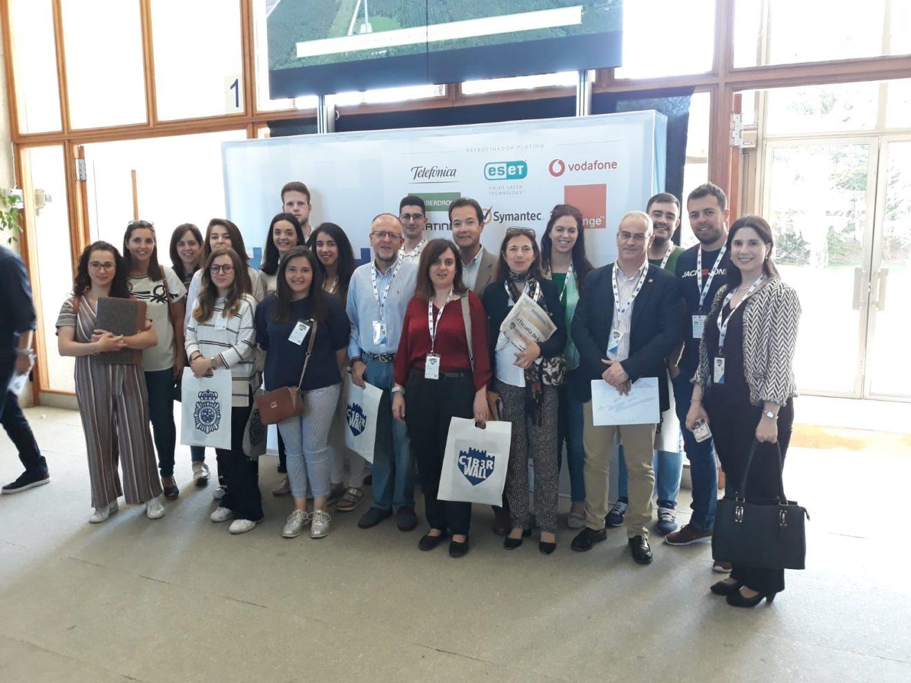 La UCAV, presente en el I Congreso en Seguridad Digital y Ciberinteligencia de la ENP