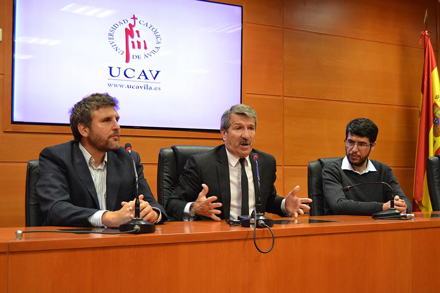 Los alumnos de Máster de la UCAV favorecerán la internacionalización y digitalización de las empresas abulenses