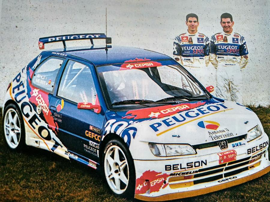 El pluricampeón de España de rallys Diego Vallejo se incorpora al UCAV Racing Engineering