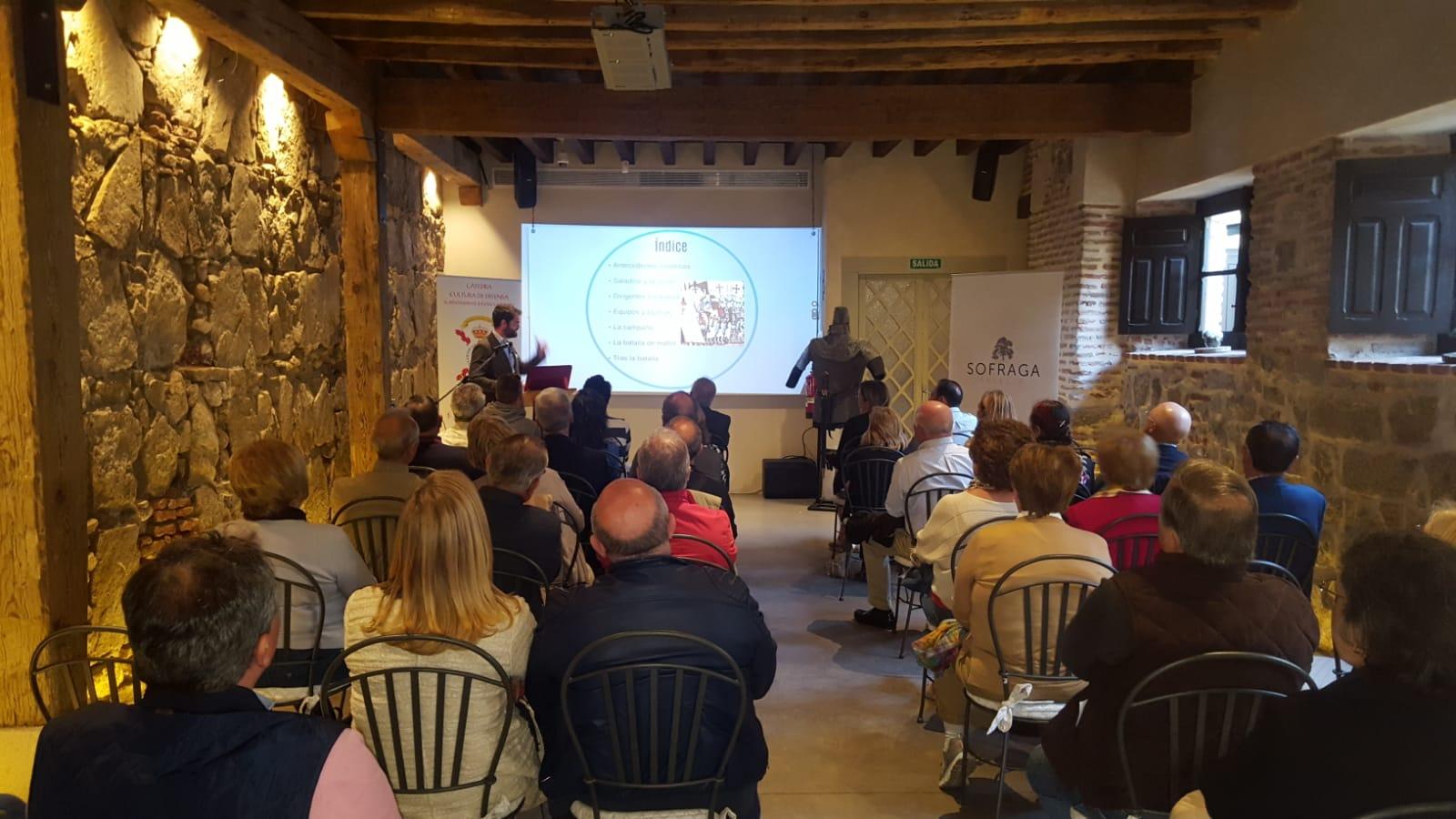 La Cátedra de Cultura de Defensa imparte una conferencia sobre la Batalla de los Cuernos de Hattin