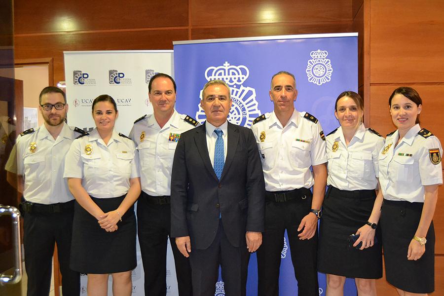 La Policía Nacional imparte un curso sobre agresiones a profesionales sanitarios organizado por la Universidad Católica de Ávila
