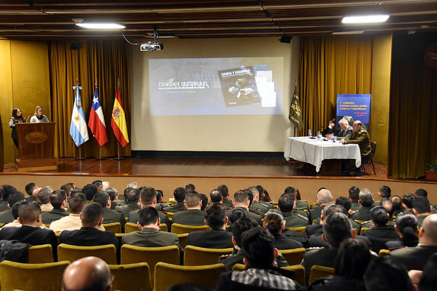 El Instituto Universitario de la Gendarmería Nacional de Argentina y la Cátedra de Estudios Policiales organizan la I Jornada sobre Ciencia y Seguridad