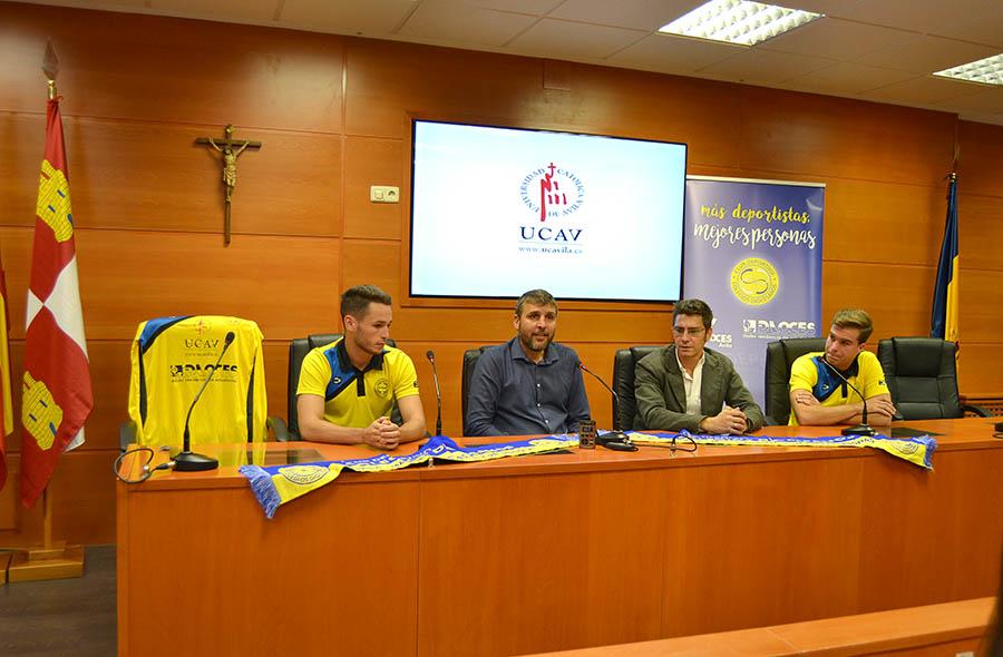 La UCAV renueva los acuerdos con el Club Deportivo Colegios Diocesanos