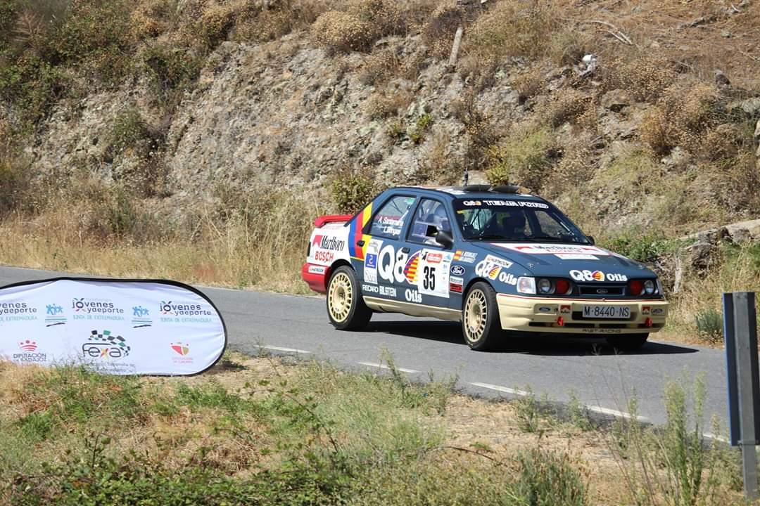 Las averías del UCAV Racing Engineering en el Rally de Extremadura pusieron fin a la carrera