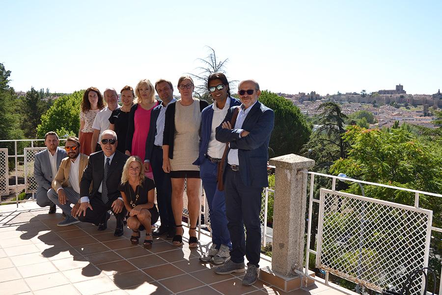 Profesores de la universidad italiana de Messina y las polacas de Cracovia y Szczecin se reúnen en la UCAV para continuar el proyecto SEAMIS