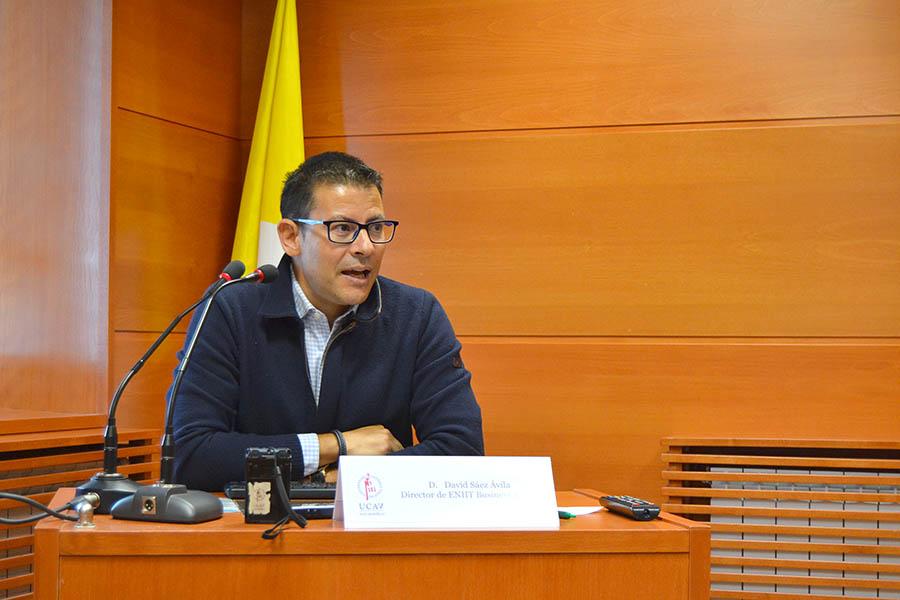 David Sáez, director de ENIIT