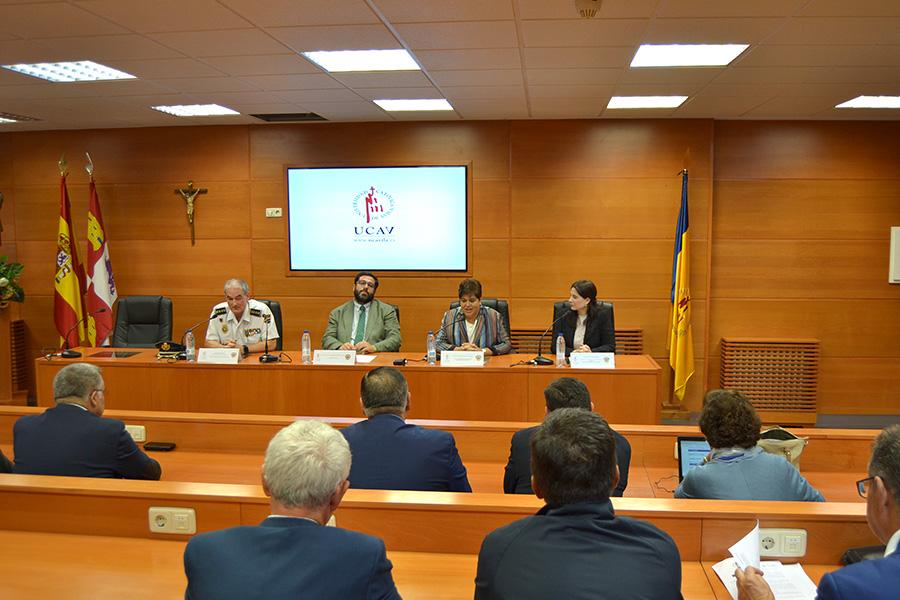 La UCAV junto con la Escuela Nacional de Policía de Ávila y el Ayuntamiento de Ávila inaugura la VII edición del Máster en Criminología
