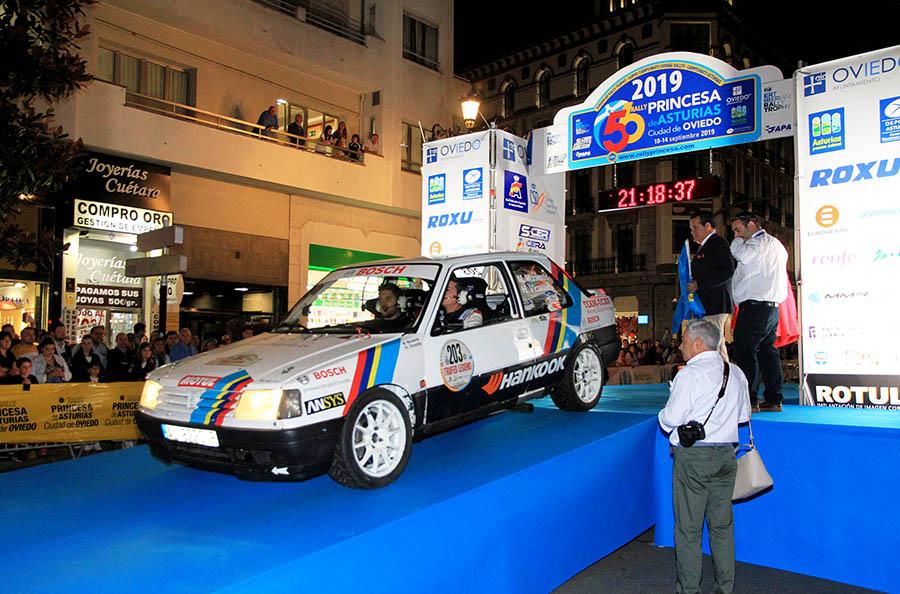 El UCAV Racing Engineering debuta en el Campeonato de España de Rallyes de Asfalto