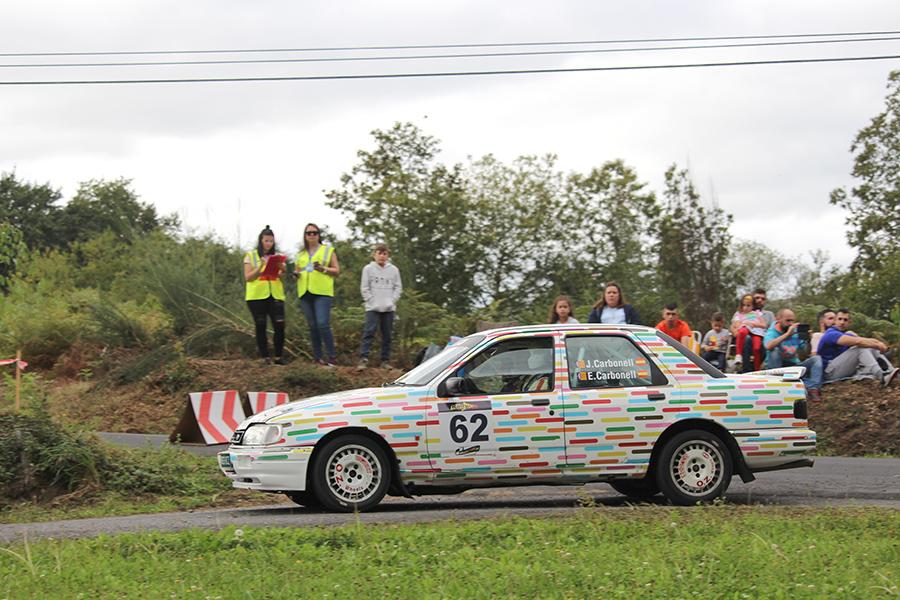 Doble podio para el UCAV Racing Engineering en el Rally Rías Altas