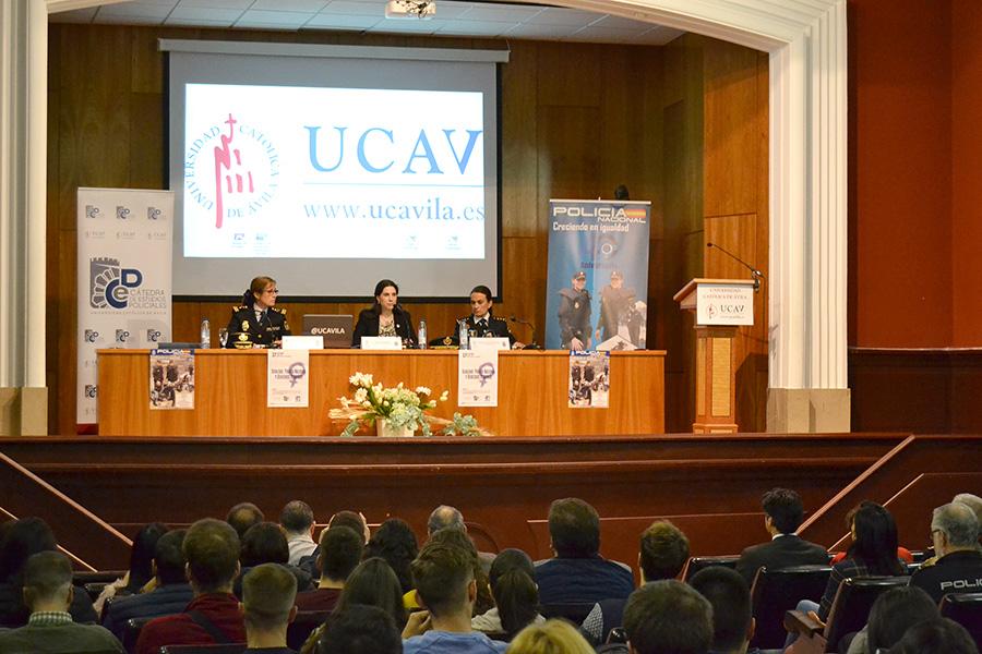 La UCAV celebra el 40 aniversario de la incorporación de la mujer a la Policía Nacional