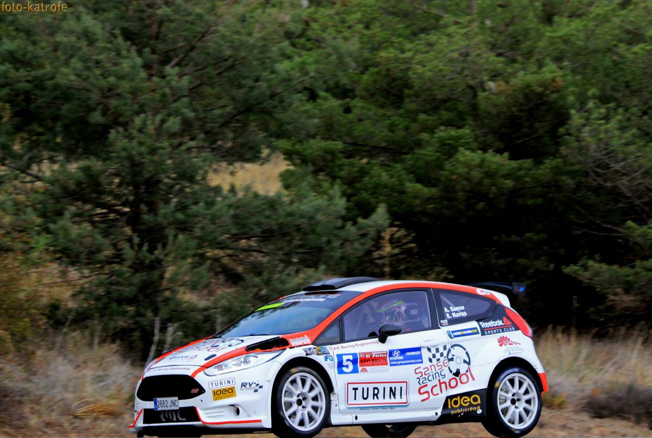La UCAV consigue un segundo puesto en el Rally de Ávila con Alberto Sansegundo