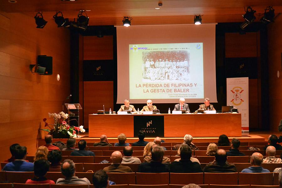 """La Cátedra de Cultura de Defensa """"Subintendente Julián Vallespín"""" de la UCAV da a conocer la vida de Domingo Castro Camarena"""