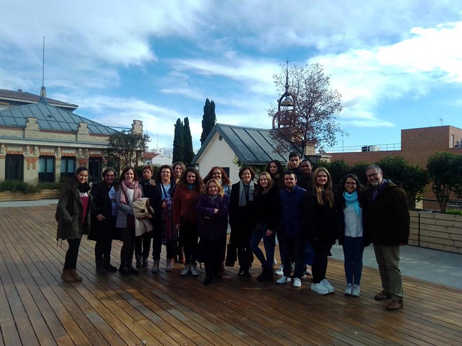 Alumnos de la UCAV visitan el Museo de Historia de la Educación, centros de ocio y ludotecas