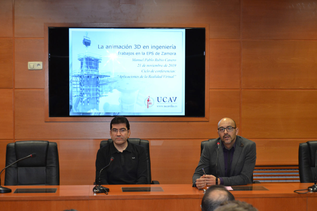 """La UCAV inaugura el ciclo de conferencias """"Aplicaciones de la realidad virtual"""""""
