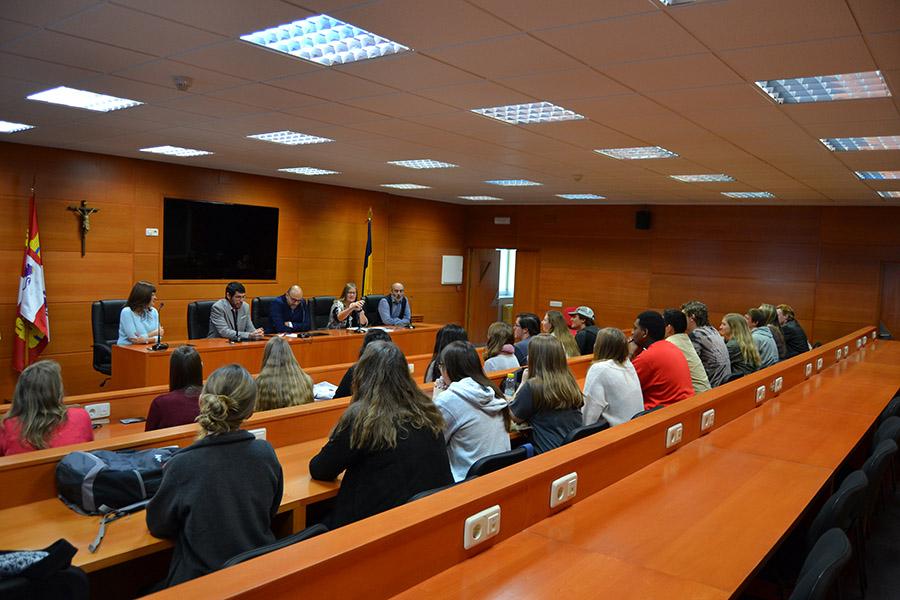 La UCAV despide a los alumnos de la Lubbock Christian University