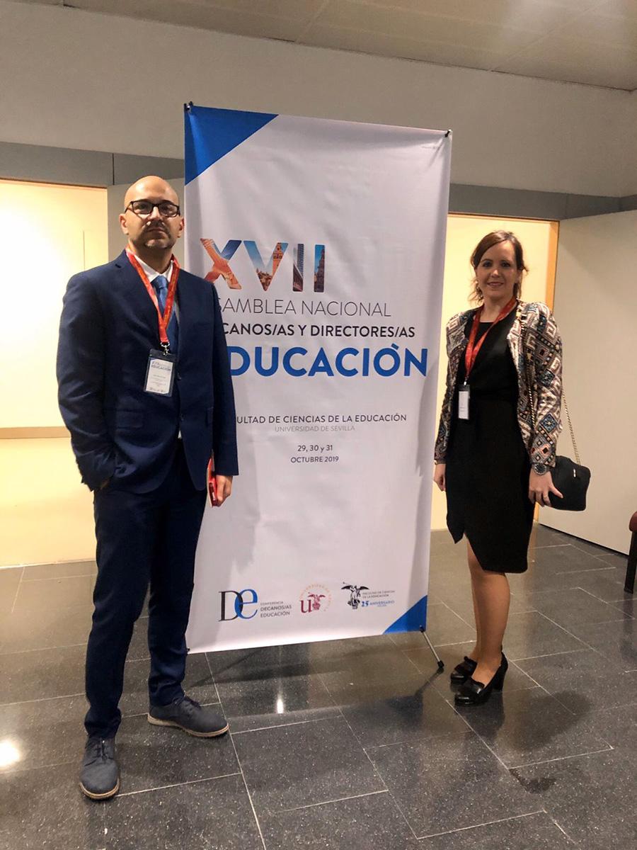 La UCAV participa en la Conferencia de Decanos de Educación en Sevilla