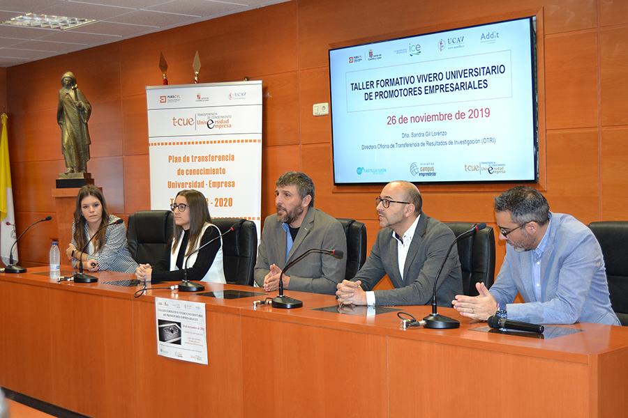 La UCAV celebra el Taller Vivero Universitario de Promotores Empresariales del Plan TCUE