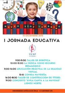 La UCAV celebra su I Jornada Educativa