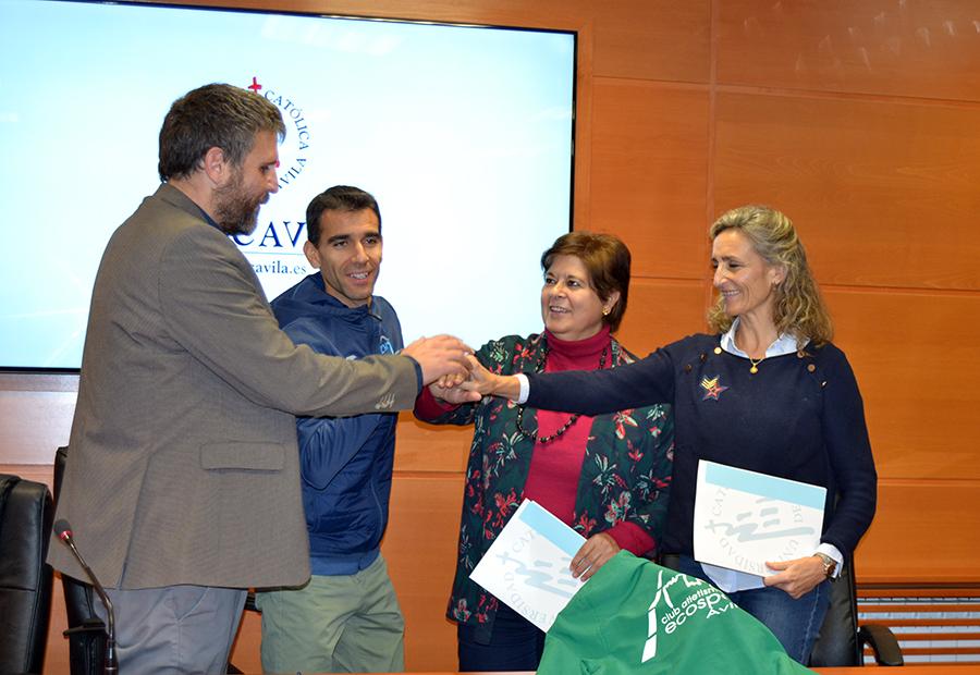 La UCAV y el Club Atletismo Ecosport Ávila unen su misión formativa