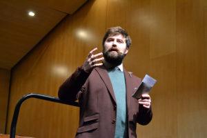Daniel García-Moreno, presentador del evento