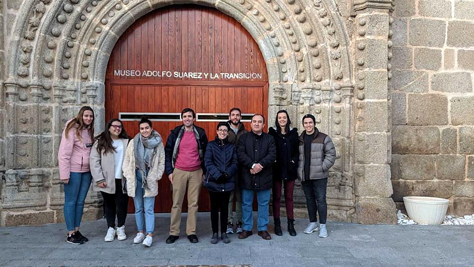 Los alumnos de Derecho de la UCAV visitan el Museo Adolfo Suárez