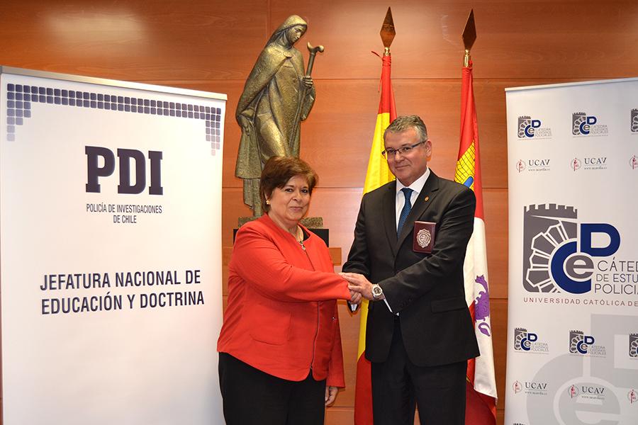 La UCAV y la Policía de Investigaciones de Chile firman un convenio de colaboración para la formación
