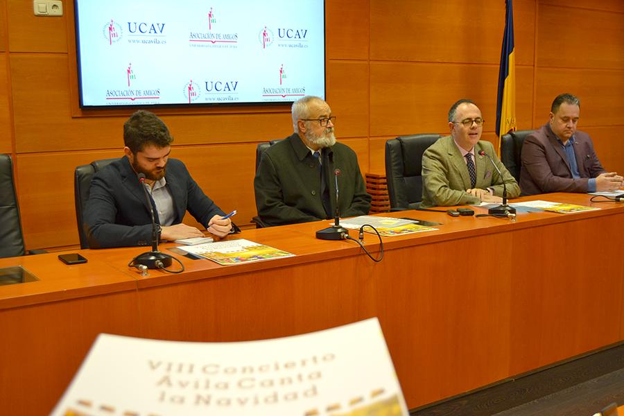 La UCAV y la AAUCAV celebran el VIII Concierto benéfico Ávila Canta la Navidad el 14 de diciembre