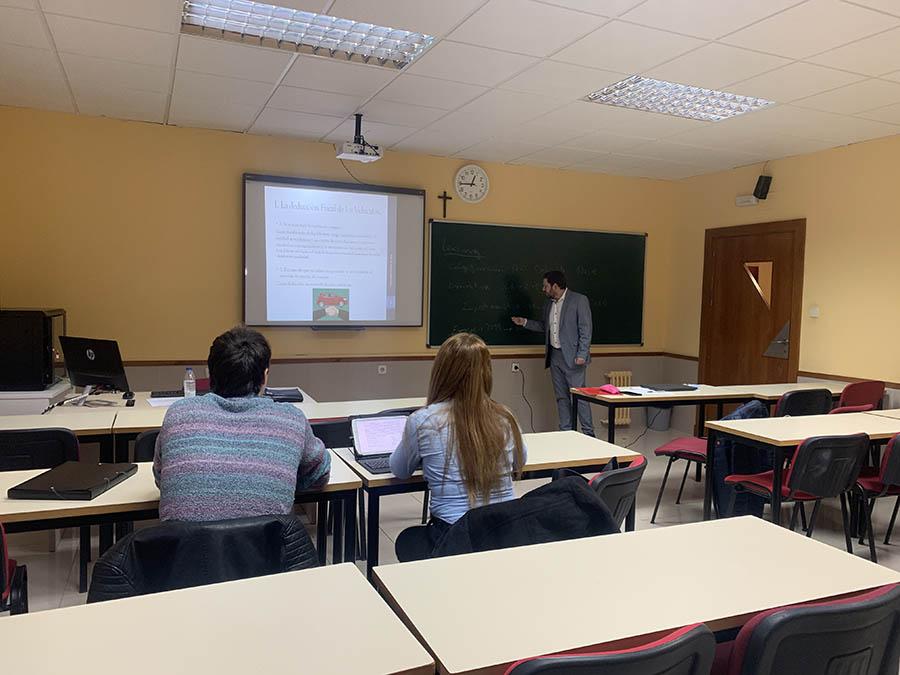 El Aula de Práctica Jurídica de la UCAV acerca de nuevo la fiscalidad del abogado a los alumnos del Grado en Derecho