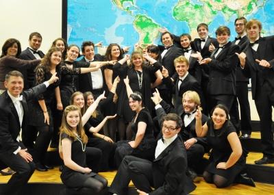 La UCAV acoge el concierto del coro Universitario Plymouth State