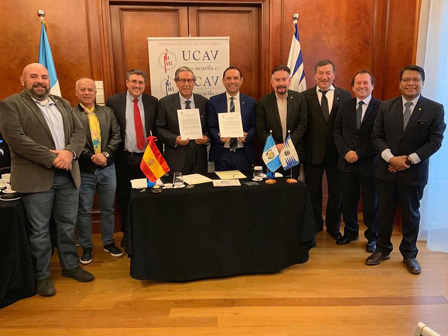 La UCAV firma un convenio de colaboración con la Universidad San Carlos de Guatemala (USAC) para fomentar el emprendimiento social
