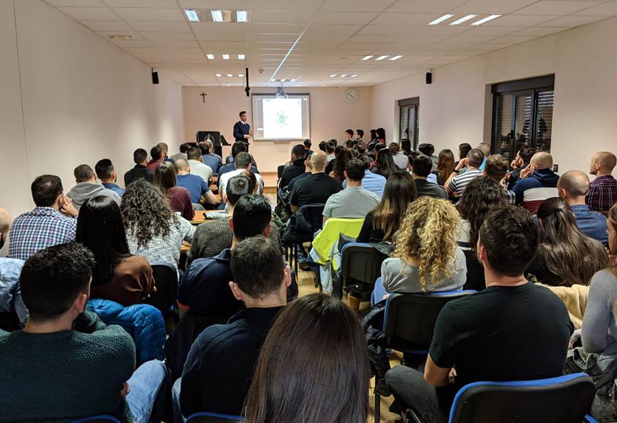 La UCAV y la International Police Association (IPA) de Navarra firman un convenio de colaboración