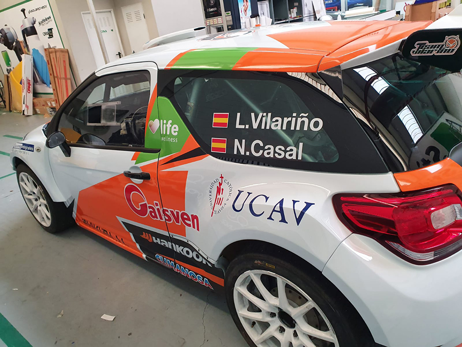El UCAV Racing Engineering arranca la temporada en el 24º Rally de A Coruña