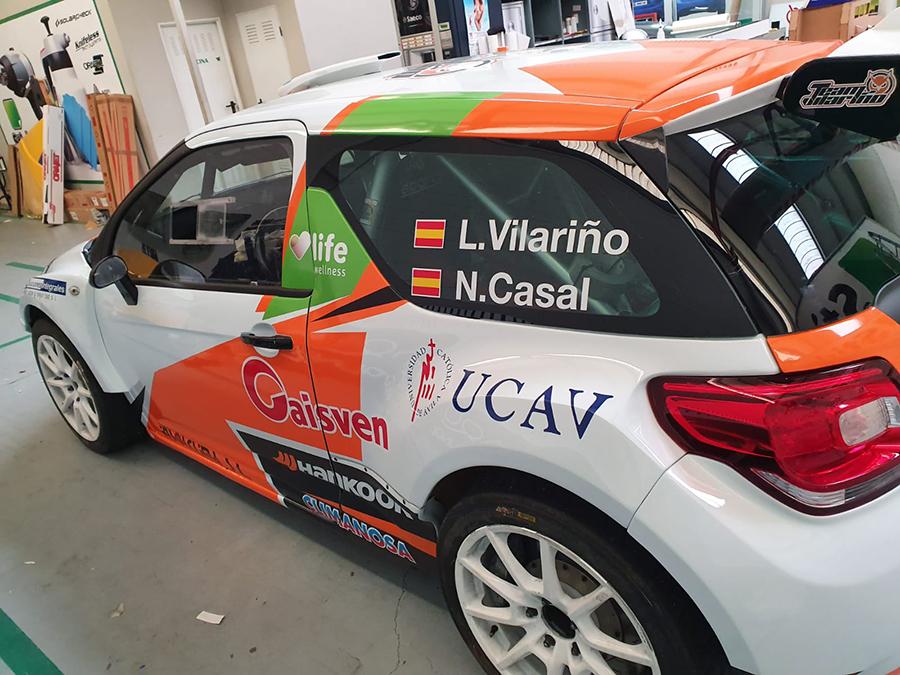 El UCAV Racing Engineering arranca la temporada en el 24º Rally de A Coruña