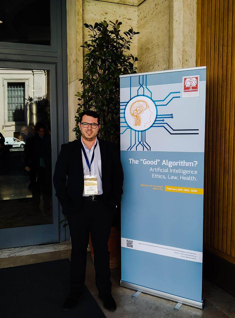 """La UCAV participa en el Workshop """"¿El buen algoritmo? Inteligencia artificial: ética, derecho y salud"""""""