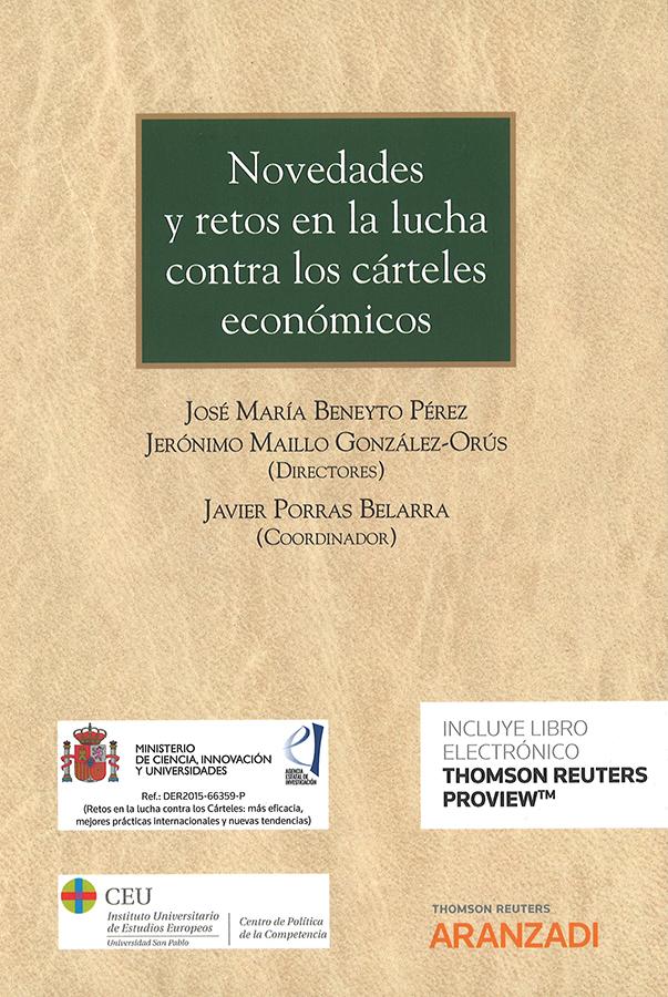 Un profesor de la UCAV participa en un proyecto del Plan Nacional de I+D+i  para la lucha de los cárteles económicos en España
