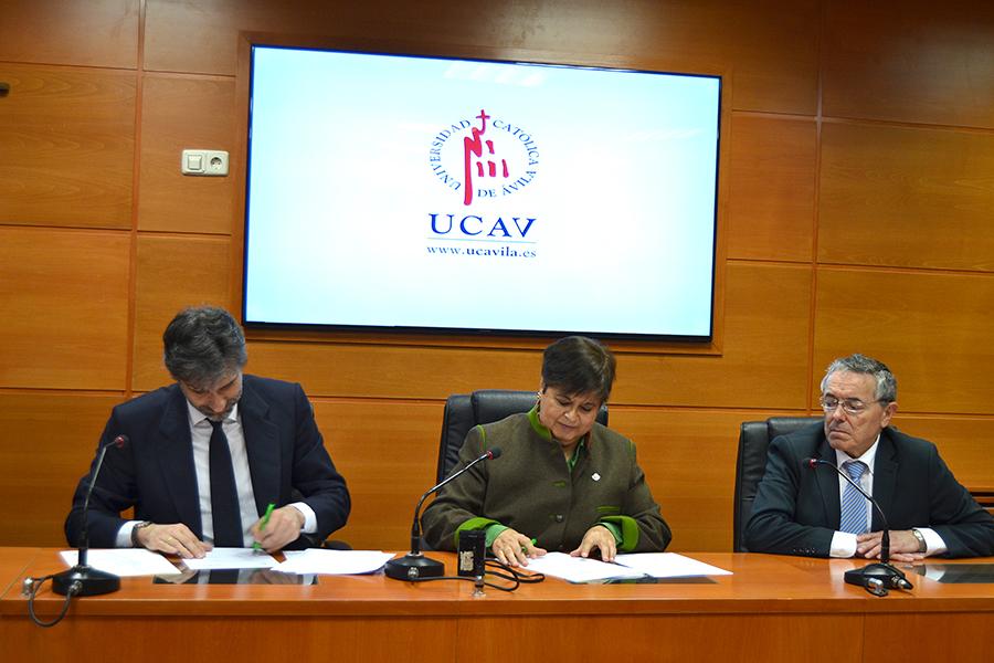 La UCAV y el Instituto de Censores Jurados de Cuentas de España trabajan en un proyecto global en auditoría