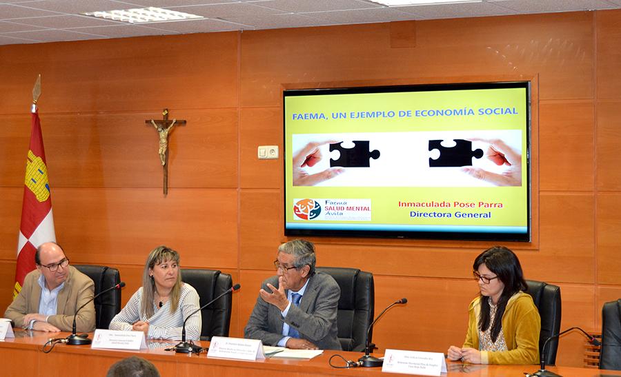 La UCAV apoya a las empresas abulenses en el Día de la Economía Social