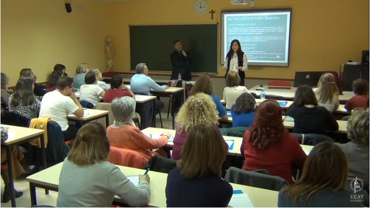 La UCAV imparte un curso sobre metodologías activas aplicadas a la clase de Religión