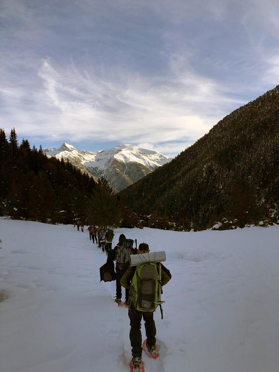 La UCAV viaja al Pirineo oscense