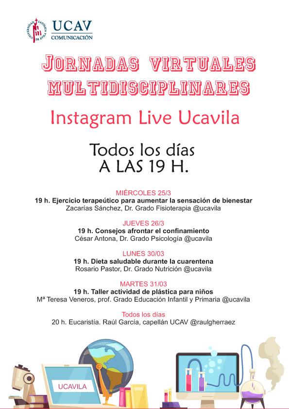 La UCAV extiende su formación vía Instagram a toda la sociedad
