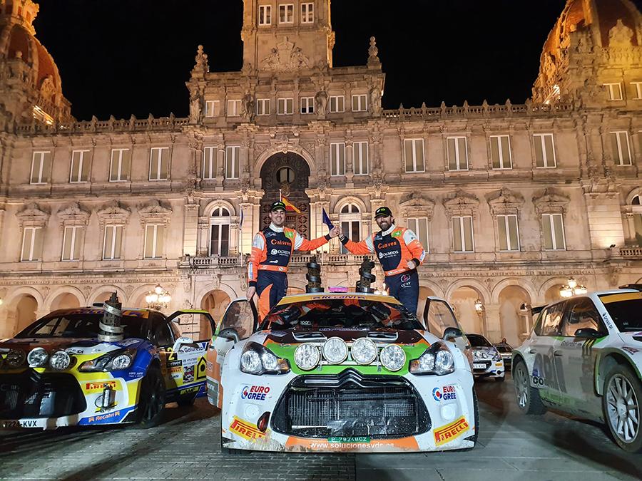 El UCAV Racing Engineering logra un sexto puesto en el XXIV Rally A Coruña