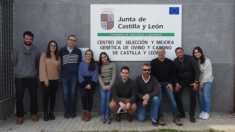 Alumnos de la UCAV visitan centros de producción animal