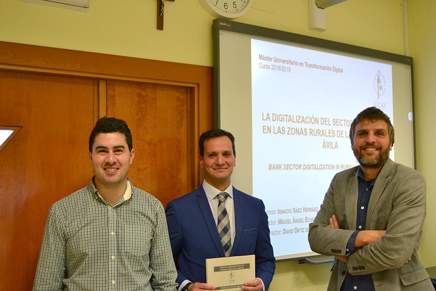 La digitalización de la banca en las zonas rurales de la provincia de Ávila, objeto de estudio en un TFM de la UCAV