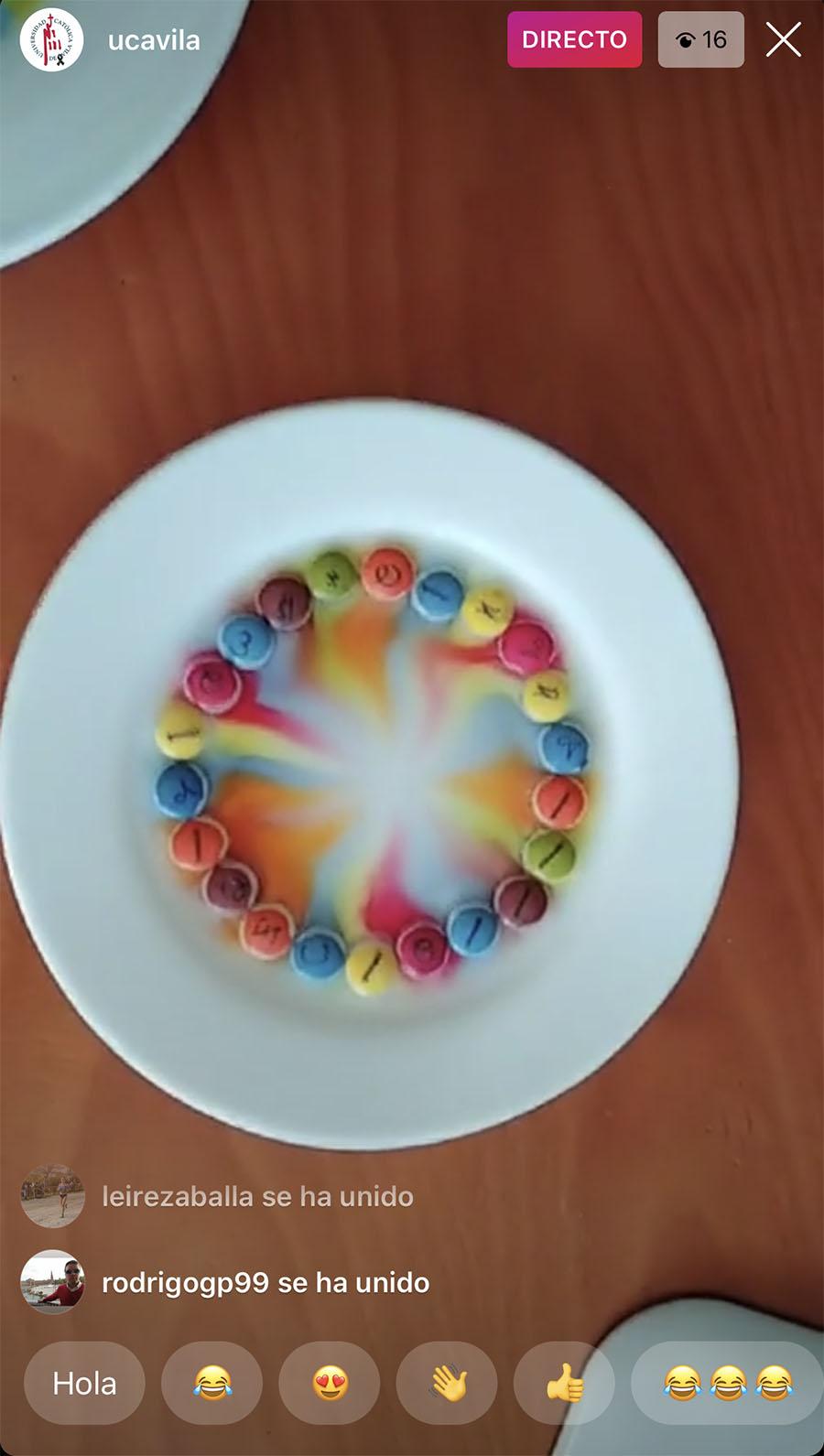 Ciencia de colores con la UCAV