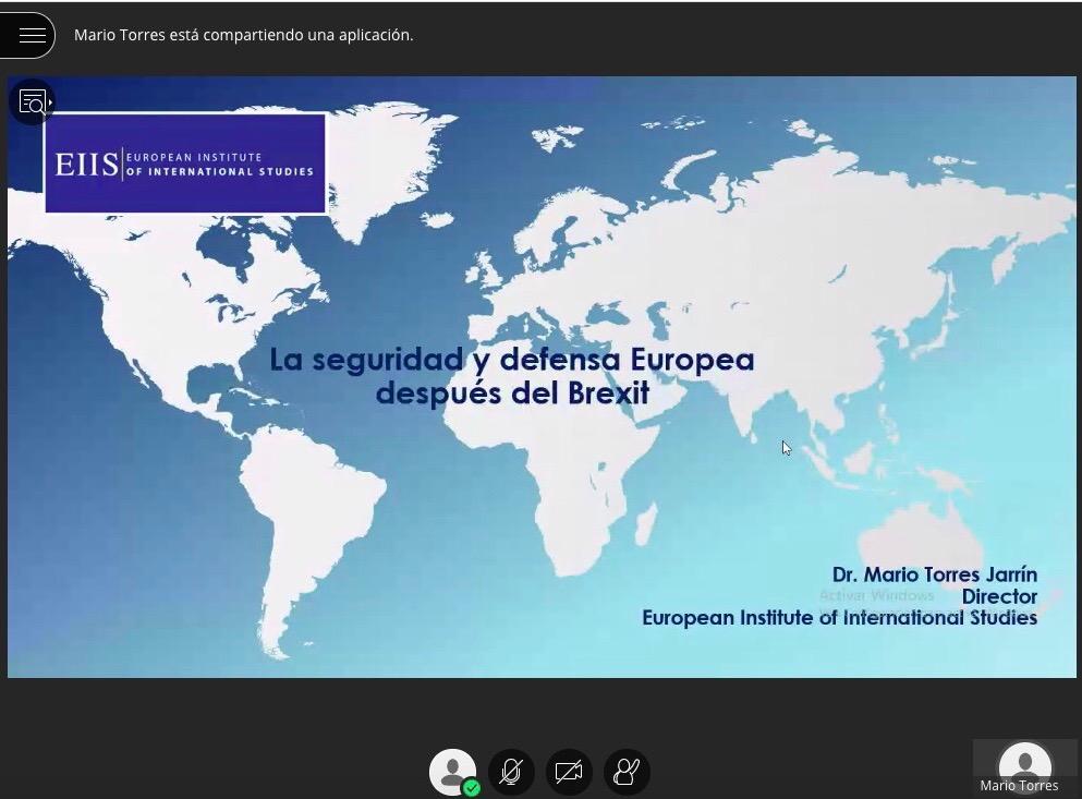 El Ciclo de Conferencias de la Cátedra de Estudios Policiales continúa su actividad en el entorno virtual